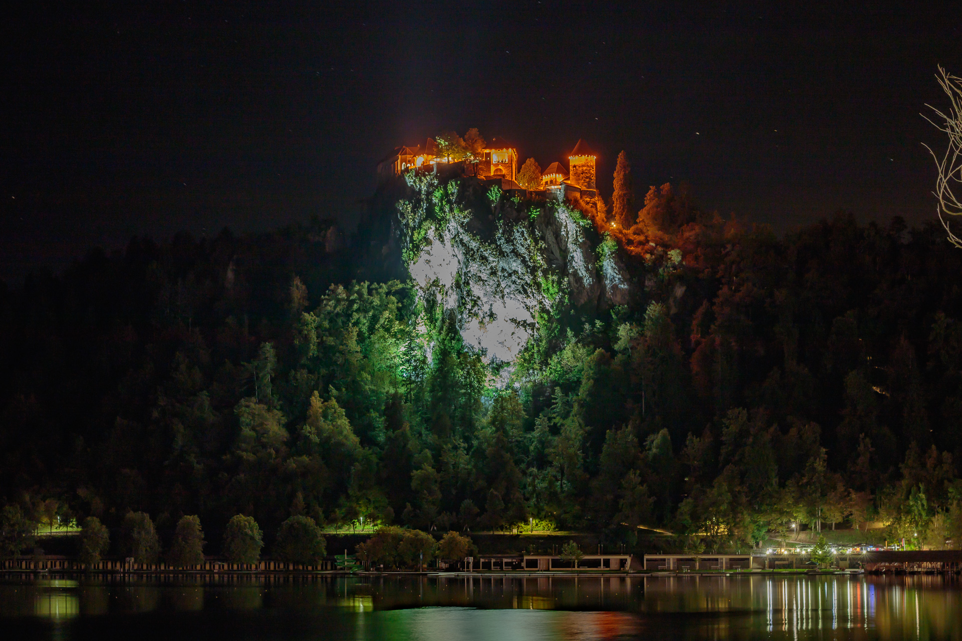 The castle at lake Bled